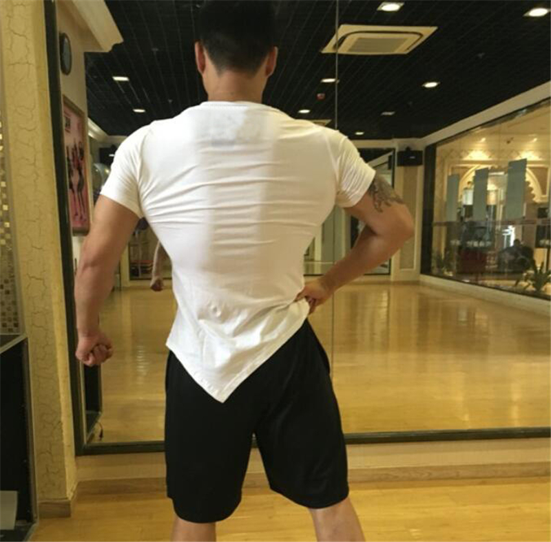 2018-Summer-Fashion-Brand-T-Shirt-Mens-Gyms-Clothing-V-neck-Short-Sleeve-Slim-Fit-T (1)