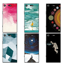 "Buy Universe Planet Couple Phone Case Coque Sony Xperia XZ1 Compact 4.6"" Soft TPU Cases Cover Sony XZ1 Compact Funda Capa for $1.39 in AliExpress store"