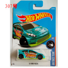 New Arrivals 2017 N Hot Wheels 1:64 12th Ford fiesta Metal Diecast Car Models Collection Kids Toys Vehicle For Children