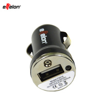 Effelon High Quality Mini USB Car Charger Adapter for Mobile Cell Phone mp3/MP4(China)