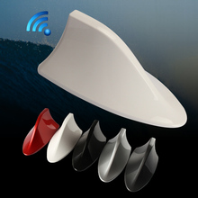 Car Shark Fin Antenna With blank radio signal shark fin for For VW Skoda Octavia Fabia Superb Rapid Yeti 5(China)