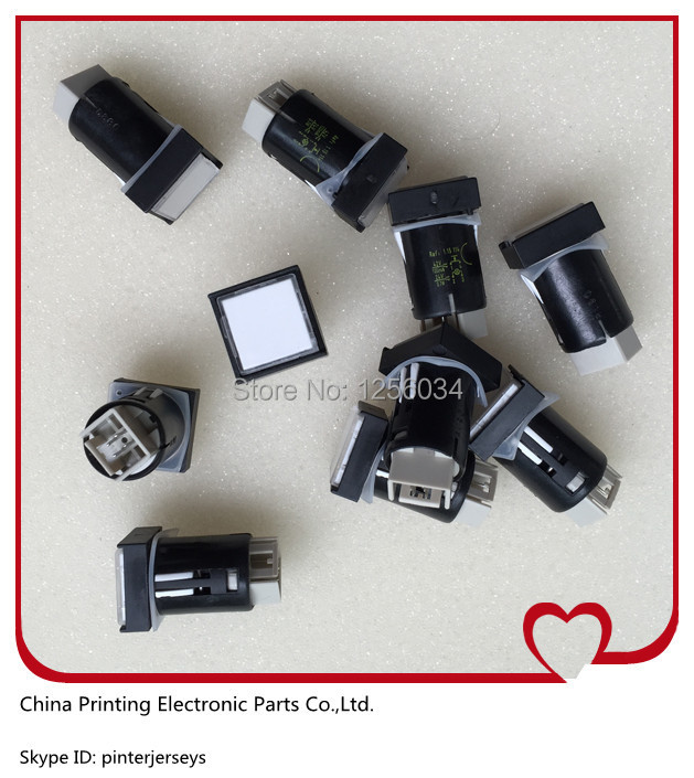 500 pieces free shipping 81.186.3855 cpc button for printing mahcine heidelberg, Illuminated push button, CPC button<br><br>Aliexpress