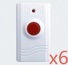 free shipping Wireless SOS Emergency Panic Button For Our GSM Alarm System 433MHz One Key Alert
