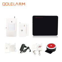 Russian Spanish voice prompt 433 mhz home alarm gsm alarm security system with water leak sensor PIR motion sensor CE FCC RoHS(China)