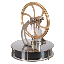 Vintage Discovery Toys Low Temperature Stirling Engine Motor Steam Heat Education Model Toy Gift For Kids Craft Ornament(China)