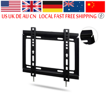 Flat TV Wall Mount Bracket LCD LED Screen for 14 inch to 32 inch TV Screen TV Mount Wall Tilt Swivel Holder(China)