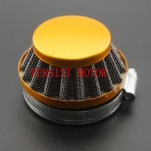 Mini Moto Colorful Air Filter 58mm Fit Two Stroke 47cc 49cc Mini ATV Quad Dirt Bike Pocket Bike Pit Bike Free Shipping