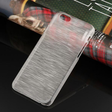 2017 Cheap Newest Phone Cases For iPhone 5 5s 4.0 inch Cover Screen Mobile Phone Shell Protective Sleeve Brushed Clear Crystal