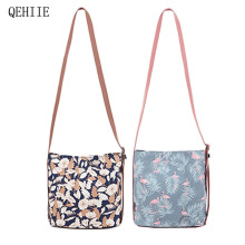 QEHIIE2017 New Shoulder Bag Lady Messenger Bag Travel Clutch Fashion essential Shopping Bag Free Shipping(China)