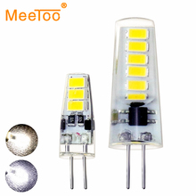 10X DC12V G4 LED Bulb Lamp 3W 6W LED G4 Light Lampada LED COB Light Bulb Replace Halogen Crystal Chandelier Home Art Lights(China)