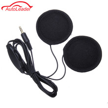 3.5mm Motorbike Motorcycle Helmet Earphone Headset Stereo Speakers with Cable Extension For MP3 Music Device GPS Cell Phones(China)