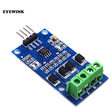 EYEWINK 5pcs/lot RS422 mutual conversion TTL two-way signal module full duplex 422 turn single chip MAX490 to TTL module(China)