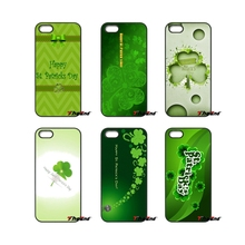 green St Patricks Day Poster For iPod Touch iPhone 4 4S 5 5S 5C SE 6 6S 7 Plus Samung Galaxy A3 A5 J3 J5 J7 2016 2017 Case Cover