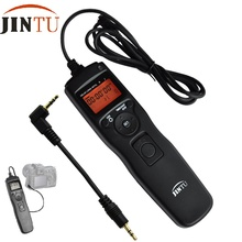 JINTU LCD Time lapse intervalometer Timer Remote Shutter Release RS-60E3 for Canon 700D 650D 600D 550D 500D 60D 70D 1100D 1000D(China)