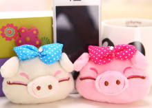 2Colors , Plush Pig toys , 40PCS.lot 2Colors - 8cm approx. Kawaii Piggies Plush Toy , Stuffed Plush TOY DOLL