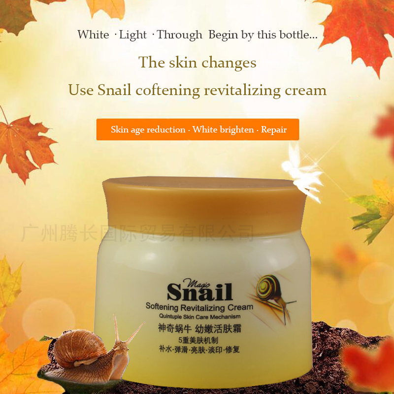 100g The snail whitening and moisturizing cream