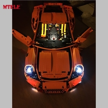 MTELE Brand LED Light Up kit For Technic Series Porsche 911 GT3 RS Model Compatible with Lego 42056 High Quality