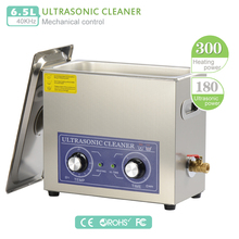 PS-30 220V 180W heater&timer Ultrasonic cleaner 6L 40KHZ for electronic components ,Dentures cleaning machine Commercial (DK)