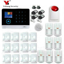YobangSecurity WIFI GSM Wireless Home Security Alarm System DIY Kit with Auto Dial Android IOS Smart Phone APP+ Wireless Siren(China)