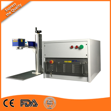 Laser Etching Machine with 100W Pulse Fiber Laser Source for Stainless Steel Deep Engraving