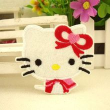 sewing accessories clothing set patches hello kitty patch applique children accessories scrapbooking buttons frozen party favors
