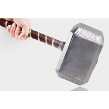 Avengers Thor's Hammer Toys Thor Custome Thor Cosplay Hammer stage property PU&Foam Kids Gift 43cm long