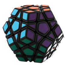 Cubing Classroom Megaminx Magic Cube Speed Cube Twisty Puzzle Toy for Beginners - Black-based(China)
