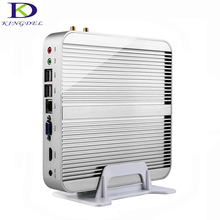 Best price Fanless computer Intel i5 4200Ui7 5550U Dual Core HDMI 3D game support HTPC Mini PC NC240