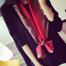 Scarves Female 2017 HOT Fashion Women Clothing Long Chiffon Colorful Print Scarf Wrap Ladies Shawl Girls Large Silk Scarves New