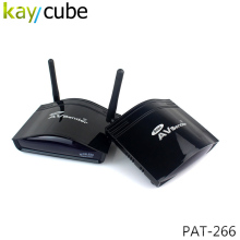 350 Meter 2.4GHz STB Wireless Long Range RCA/AV Transmitter and Receiver PAT-266 TV Audio Video Sender Wireless Sharing Keycube(China)