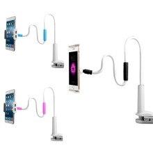 Holder Flexible Long Arms cell Phone Desktop Bed Lazy Bracket Mobile Stand Support Uhans V5 U100 U200 TP-Link Neffos Y5