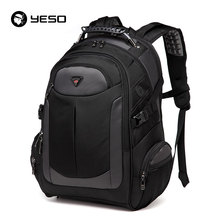 YESO Brand Laptop Backpack Men's Travel Bags 2017 Multifunction Rucksack Waterproof Oxford Black Computer Backpacks For Teenager(China)
