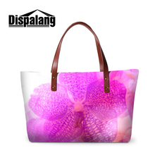 Dispalang cute floral printed women new shopping totes bags lady's lovely flower summer beach bag female brand designer handbags(China)