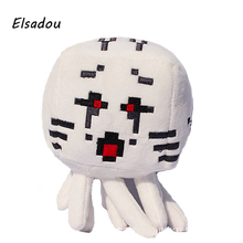 Elsadou Minecraft Ghast Red Plush Toy Doll