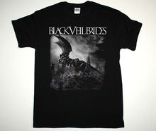 BLACK VEIL BRIDES IV NEW ALBUM BVB SHOCK ROCK HEAVY GLAM METAL NEW BLACK T-SHIRT Print T Shirt Summer Short Simple(China)