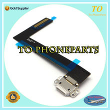 10pcs/lot Free Shipping connector charger charging port flex cable for ipad 6 air 2 charger dock charging port flex cable