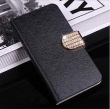 Flip Stand Book Style Silk Case Capa For Samsung Galaxy S3 S4 S5 Mini Note 2 3 4 5 Phone Case Protection Shell(China)