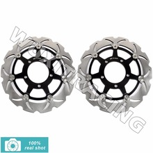 02 03 04 Moto Front Brake Discs Rotors fit for KAWASAKI ZX6RR ZX6 RR NINJA ZX6R ZX6 R 636 NINJA 2002 2003 2004 280mm(China)
