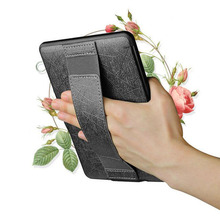 6 inch Slim ebook Case for amazon kindle Voyage Portable PU Leather Protective Sleeve One Hand Control Texture Back Cover