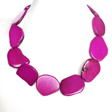 Free Shipping Hot Pink Necklace, Fashion Collar Choker Popular Necklace