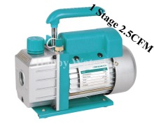 Single Stage 2.5CFM 1/4HP Rotary Vane Small Electric Vacuum Pump for Deep HVAC Tool AC R410a R134