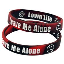 Promo Gift Bulk Cheap Custom Logo Silicone Wristband Bracelet for Advertising Gift(China)
