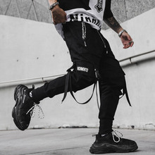 Streetwear Joggers Pants MOMO Trousers Stage-Costume Hip-Hop New Singer Club Spring April