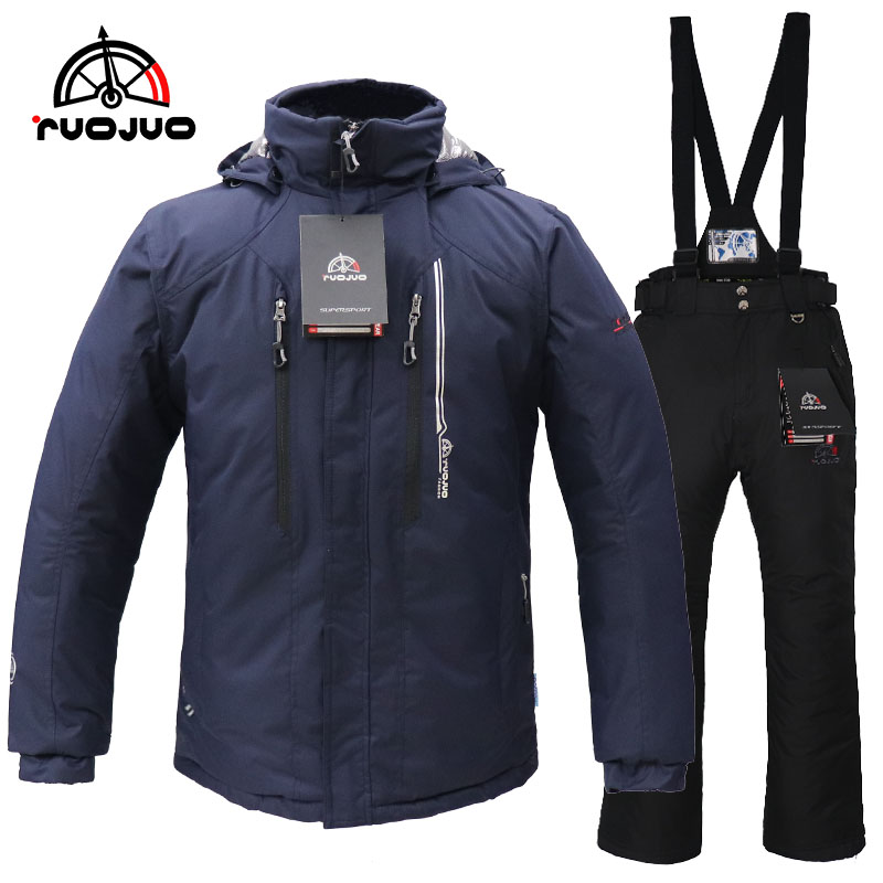ruojuo man ski suit