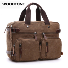 Original Z.L.D Canvas Leather Men Travel Bags Hand Luggage Bags Men Duffel Bags Travel Tote Hide the shoulder strap