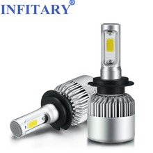 12V Car Headlight H4 LED H7 H1 H3 H11 H13 HB1 HB2 HB3 HB4 HB5 9003 9004 9005 9006 9007 72W 8000LM Auto Headlamp 6500K Light Bulb(China)