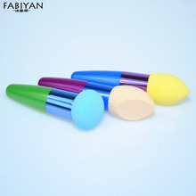 1PCS Make Up Liquid Cream Foundation Concealer Sponge Brush Blender Cosmetic Flawless Smooth Powder Puff Makeup Brushes Tools