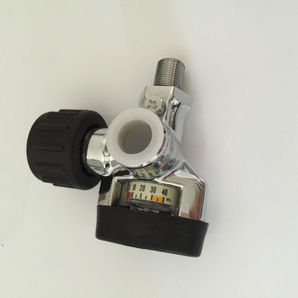 CGA natural gas cylinder valve/automatic water valve/high pressure steel CO2 gas cylinder carbon dioxide valve-K<br>