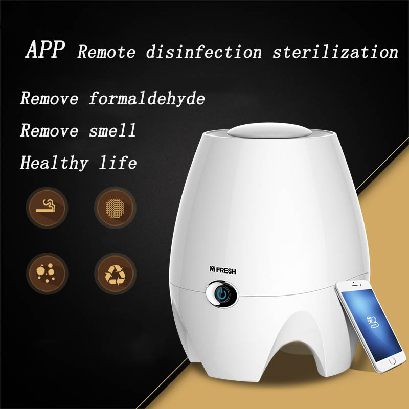 Air Cleaner Oxygen Portable Ionizer Generator Sterilization Disinfection Clean Room Air Purifier<br>