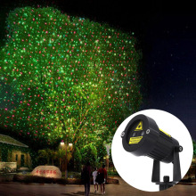 Outdoor Garden Decoration Waterproof IP65 Christmas Laser Light Star Projector Showers Red Green Static Twinkle With IR Remote(China)